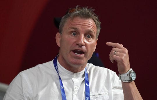 Rick Suhr, shown at the 2019 IAAF World Athletics Championships in Qatar, said there health and safety should be larger priorities than the Olympics right now.