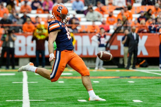 Syracuse punter Sterling Hofrichter should get a chance to compete in an NFL training camp this summer.