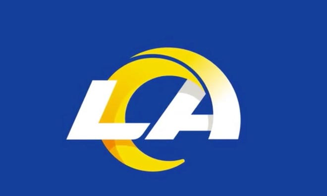 The Los Angeles Rams unveiled their now logo Monday, March 23, 2020, and some have criticized it for looking similar to Angelo State University's logo.