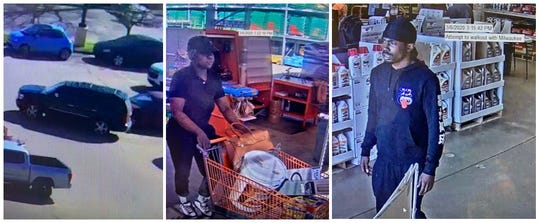 The Shreveport Police Department is asking for help in identifying two suspects of a Home Depot theft that was reported on March 6, 2020, in Shreveport.