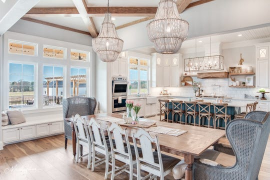 Everything about this home is pure Southern luxury, with plenty of space to entertain, cook and spend time in the outdoor living.