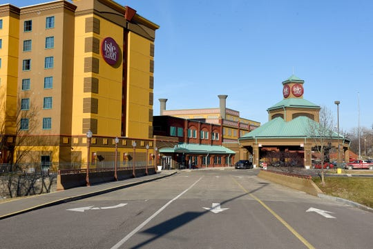 The Isle of Capri Casino opened in Boonville in 2001 featuring three restaurants and a 140-room hotel. The casino employs about 400 people. [Don Shrubshell/Tribune]