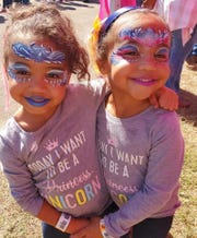 Eva and Leah Joseph are the 4-year-old Jr Ambassadors for the JDRF 2020 Tallahassee Walk, set go virtual on March 28.