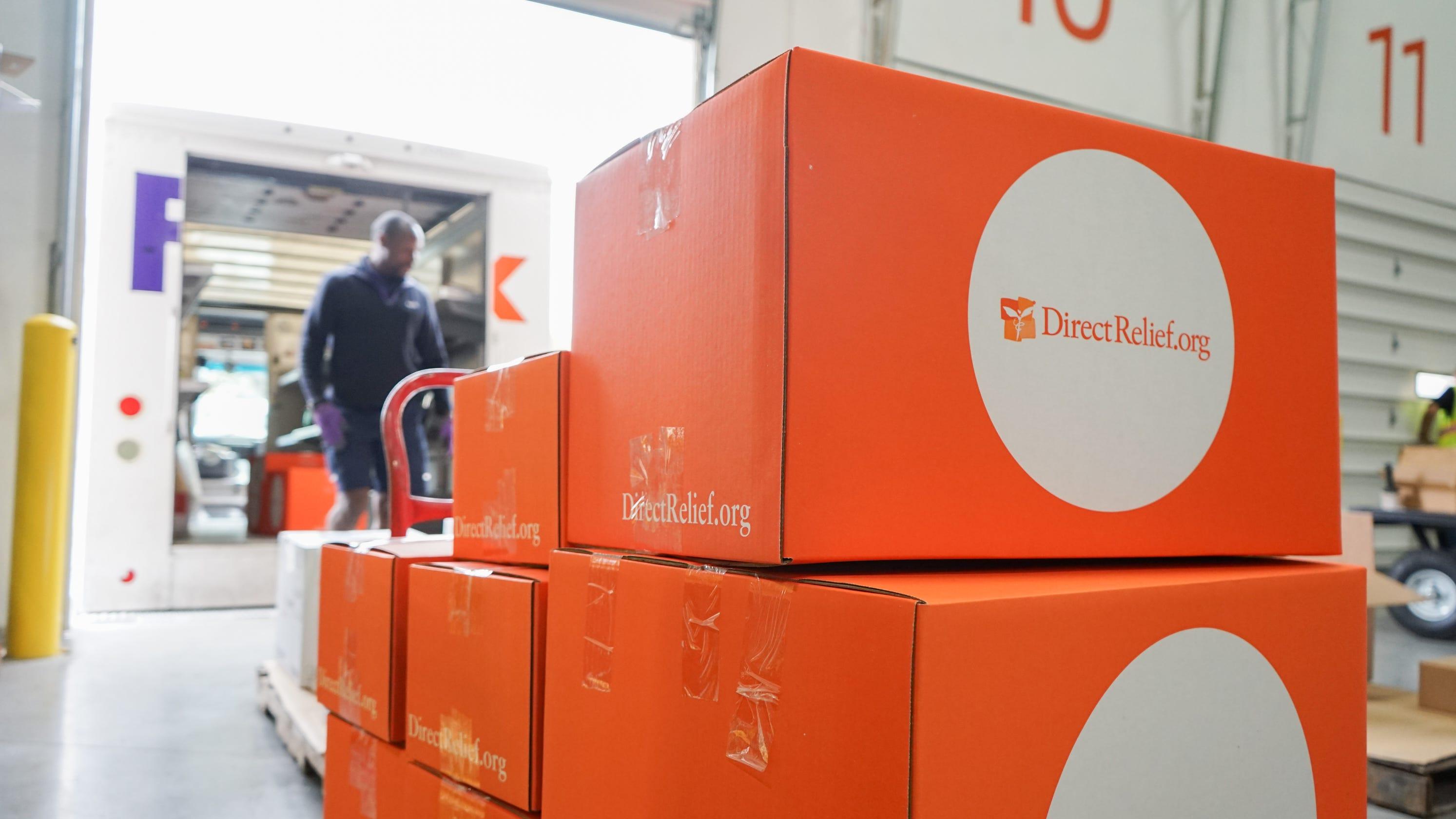 Medical supplies shipped to Ventura County from Santa Barbara nonprofit