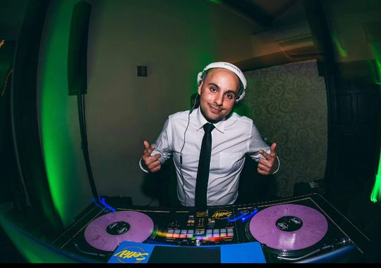 DJ Seth Velez, also a Vineland career firefighter, is hosting an online dance party March 23, 2020 to bring people together but mindful of COVOD-19 safety precautions.