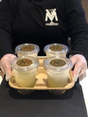 V&M Bistro on Marsh Road in north Wilmington is selling its signature Limoncello Ice Martini in to-go containers.