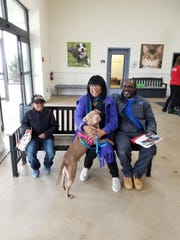 Nezi gets adopted at the Brandywine Valley SPCA in New Castle.