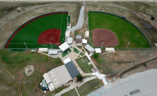 Sunrise Optimist Field is one of many local playing fields and stadiums that will remain empty for the remainder of this spring.