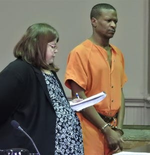 Michael Boyd, represented by attorney Amy Otto, asked the judge for a lighter sentence claiming he was just trying to help a friend when he waived a gun around while under weapons disability.