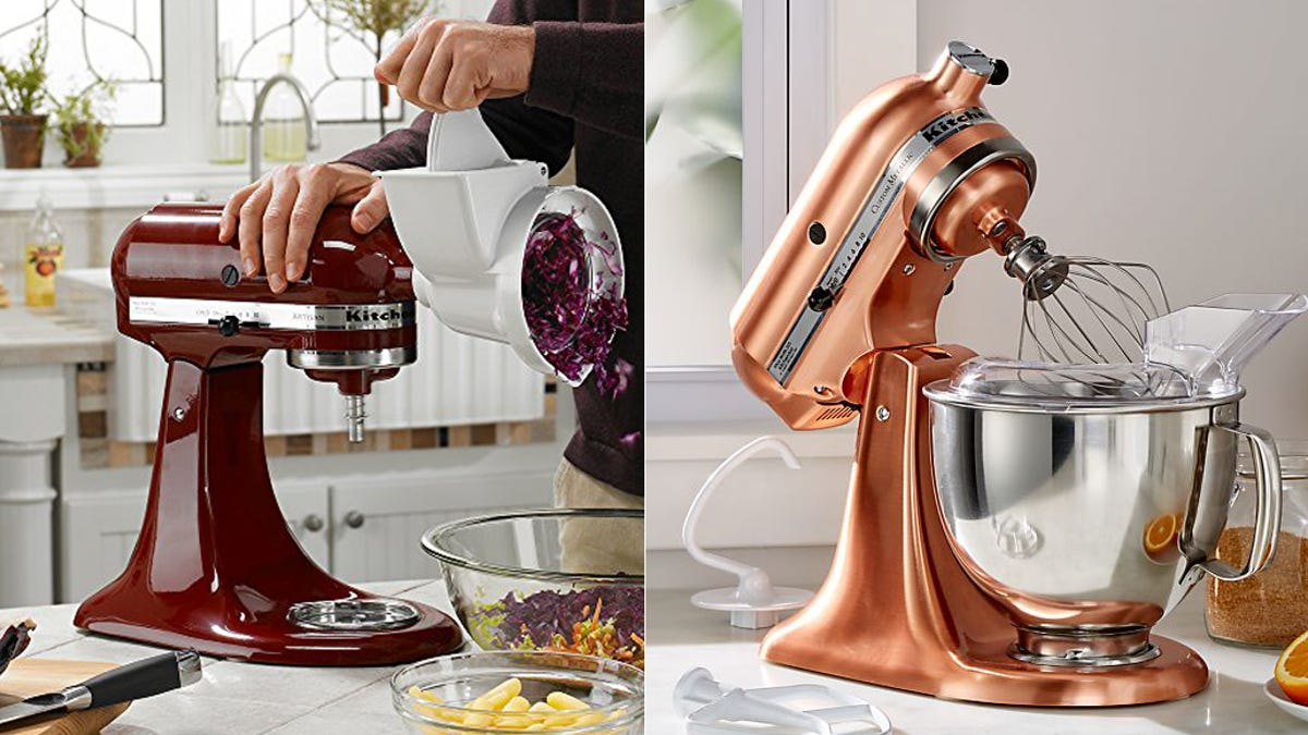 Kitchenaid Deal Get The Best Selling Stand Mixer On Sale In Rare Colors