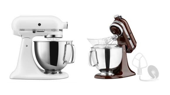 Save on an iconic KitchenAid stand mixer today.