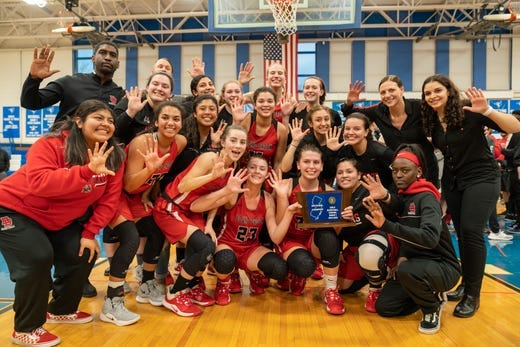 The Bound Brook High (N.J.) girls basketball team has won five consecutive sectional championships while taking steps to limit knee injuries.