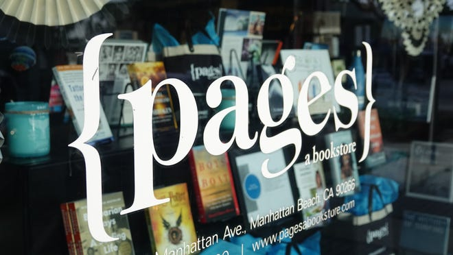 {pages a bookstore} in Manhattan Beach, California, has moved its weekly bookclub to Zoom, to keep in contact with customers during the COVID-19 crisis
