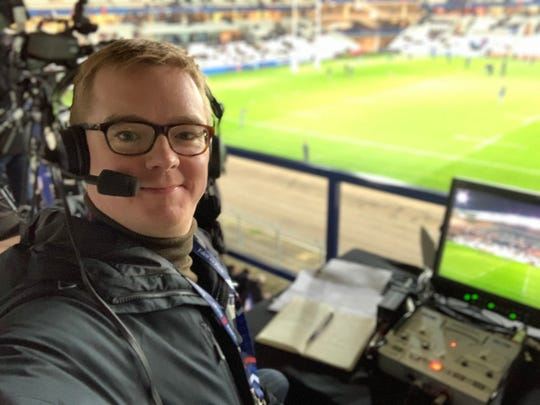 Without sports, rugby announcer goes viral for narrating everyday events