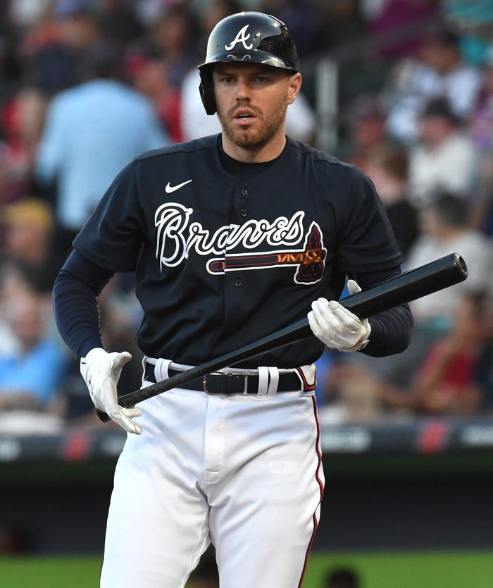 All-Star Freddie Freeman among four Braves testing positive for coronavirus