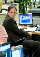 "With his big glasses, mustard shirts and love of beets, Rainn Wilson was unforgettable as Dwight Schrute on ""The Office."""