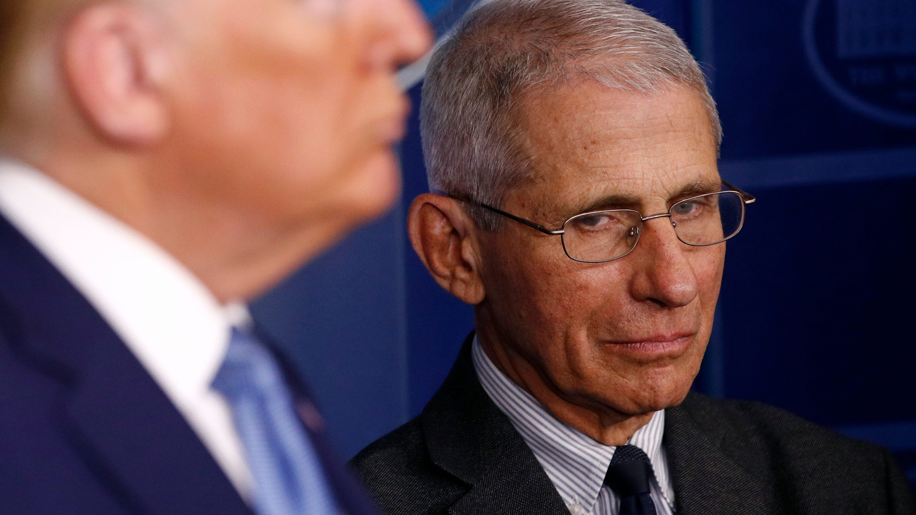 Dr. Fauci warns of 'imported' coronavirus cases once travel ban lifts thumbnail