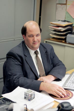"""Brian Baumgartner, who portrays the candy-loving accountant Kevin Malone on """"The Office,"""" will be signing autographs at Segra Stadium on Sept. 2."""