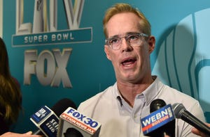 Joe Buck just might save us from the sports shutdown.