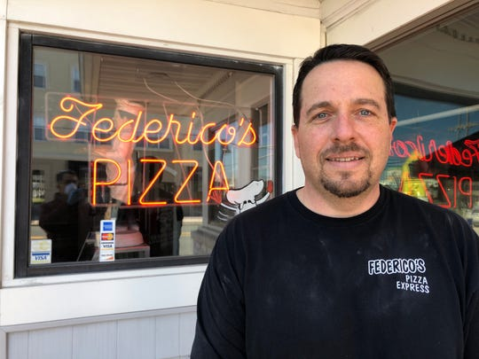 Michael Morin of Federico's Pizza in Belmar.