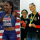 Olympians Ajee' Wilson (Neptune) and Monica Monica Aksamit (Maawan) react to the postponement of the 2020 Tokyo Olympics.