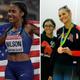 Olympians Ajee' Wilson (Neptune) and Monica Monica Aksamit (Maawan) react to the postponement of the 2020 Tokyo Olympics.