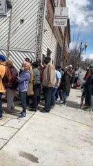 """""""We'll continue to feed people. There are other places that are able to feed people,"""" Micheal Woods said. """"There's not a whole lot of sheltering at this stage."""""""