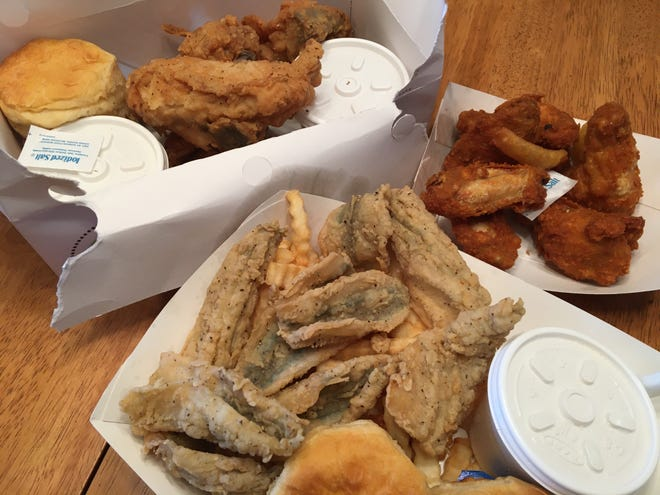 Chicken, chicken wings, fried smelt are just some of the options for takeout at Speedy Chick, which has been in Battle Creek for over 50 years.
