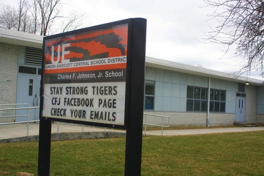 The Union-Endicott Central School District is closed from March 16-April 16 and has switched to at-home learning.