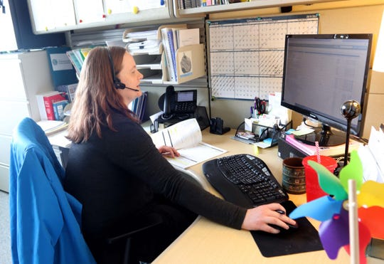 Anna Gonzalez, a public health nurse for Kitsap Public Health District, investigates the contacts a person with COVID-19 has had to help track locally where the disease came from and where it is going.