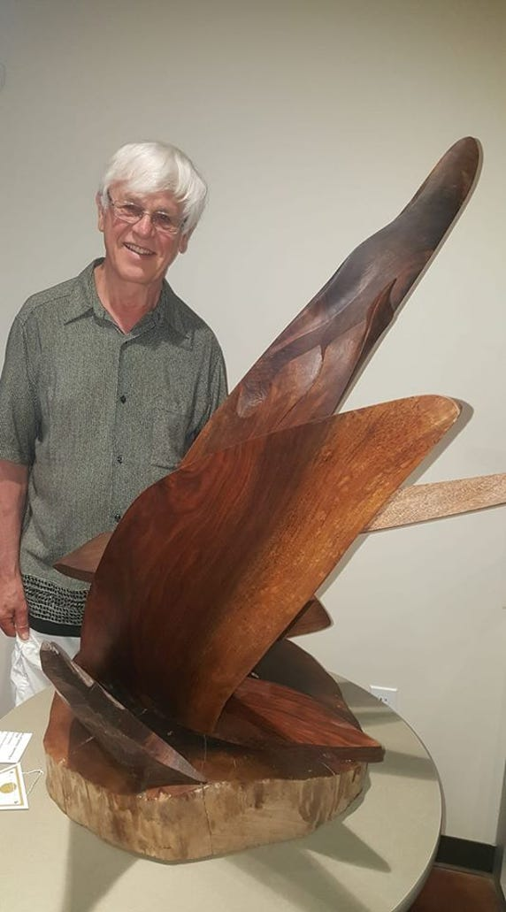 Bremerton artist Alan Newberg.