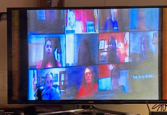 Members of the Chillicothe City Council met Monday night via video call per guidelines established by Ohio Attorney General Dave Yost.