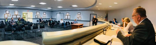 Cheviot City Council practicing social distancing