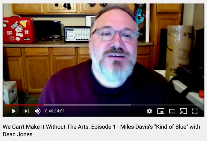 """arry Jones, Dean of APSU, in Episode 1 of the """"We Can't Make It Without the Arts"""" series."""