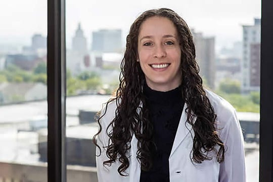 Rachel Kaye, an assistant professor of otolaryngology at Rutgers New Jersey Medical School in Newark, is tracking early COVID-19 sysmptoms, such as the less of smell and taste, to help curb the spread of infection.
