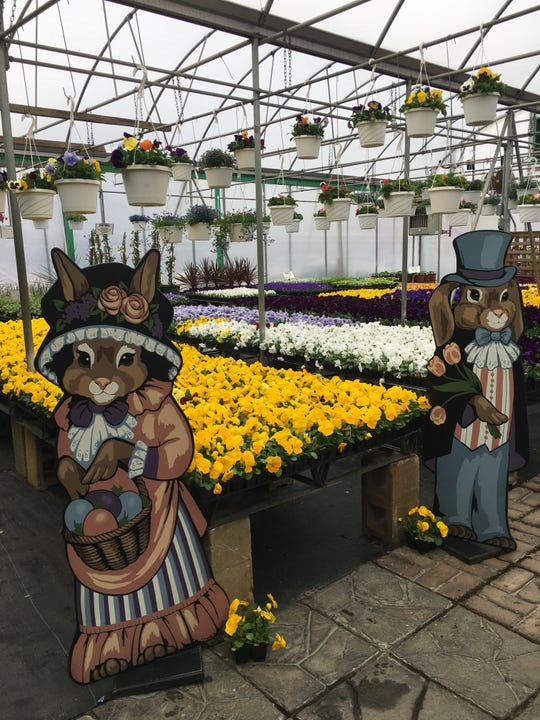 Twin Pond Farm Garden Center offers free delivery on some larger orders.