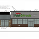 Hy-Vee's revised planto build a Fast & Fresh convenience storeand gas station in Waukee, approved by the city's planning and zoning commission on March 24, now includes aSmokey Row Coffee drive-through.