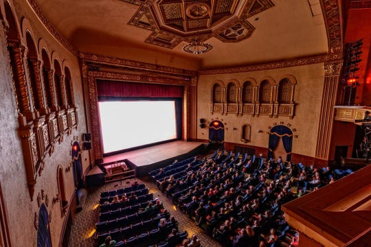 In past years, most Ann Arbor Film Festival screenings were at the Michigan Theater in downtown Ann Arbor.