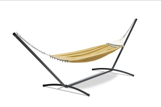 A hammock can provide a soothing spot to relax during tough times.