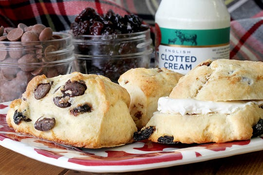 Ackroyd's Scottish Bakery sells scones, savory pies, tea cakes, fruit cake and more from the family-run shop in Redford.