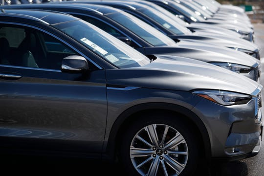 Michigan auto dealerships had to shut down their sales departments Tuesday, but service departments at many remain open.