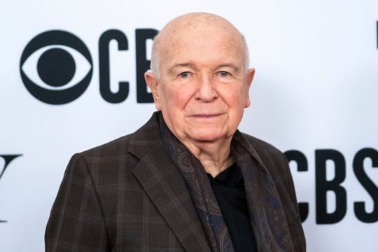 """Playwright Terrence McNally at the 73rd annual Tony Awards """"Meet the Nominees"""" press day in New York."""