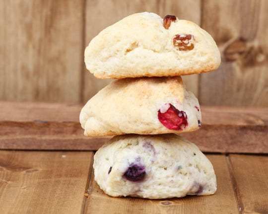Scones require only seven simple ingredients and can be dressed up to be sweet or savory.