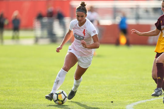 Kenna White of Canton finished with 10 goals in her freshman season at Bowling Green, where she was named to the All-Mid-American Conference second team.