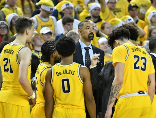 "Michigan's game next season against Kentucky in London is ""up in the air,"" according to Wildcats coach John Calipari, because of the coronavirus pandemic."