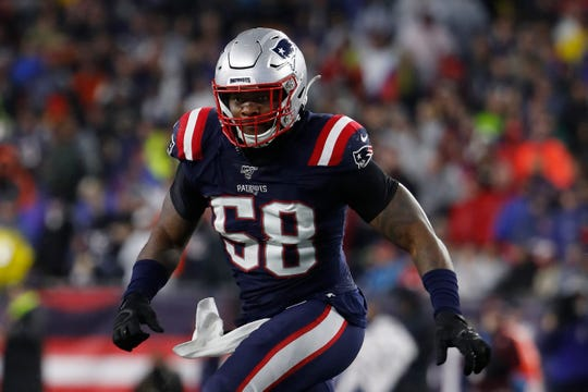Linebacker Jamie Collins enjoyed one of his best all-around seasons in 2019, tallying 81 tackles, seven sacks, three interceptions and three forced fumbles.