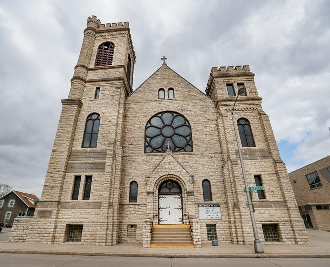 St. Mary's Roman Catholic Church is located at the intersection of Merrill and Marquette Streets in Fond du Lac, Wis. The church has opened its doors through at least March 31, 2020, for the public to come in, pray and eat.