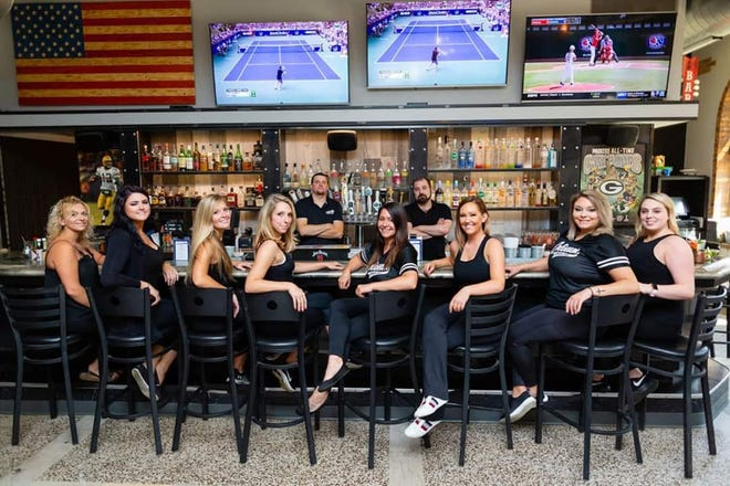 Fond du Lac's downtown restaurant, Coliseum Sports Bar and Grill, is now offering free grocery delivery for people who may not have the ability to get the groceries themselves, or don't currently feel comfortable leaving the home. Pictured are Coliseum Sports Bar and Grill staff.