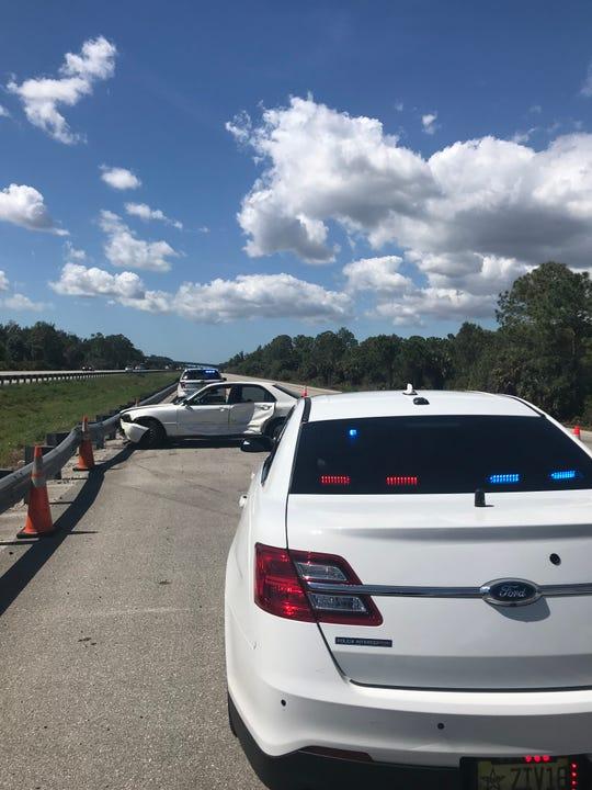 I-75 crash involving Lee County deputy