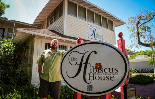 The impact of the coronavirus pandemic on the hotel industry has been wide. Many area hotels have lost a lot of revenue and visitors due to the pandemic. The Hibiscus House Bed and Breakfast in downtown Fort Myers is feeling the squeeze. Its owner, Bob Brooks, has lost a lot of bookings and money due to people not traveling and using hotels less during the pandemic. Like a lot of local hoteliers, he is trying to ride out the storm and come out with his business intact.